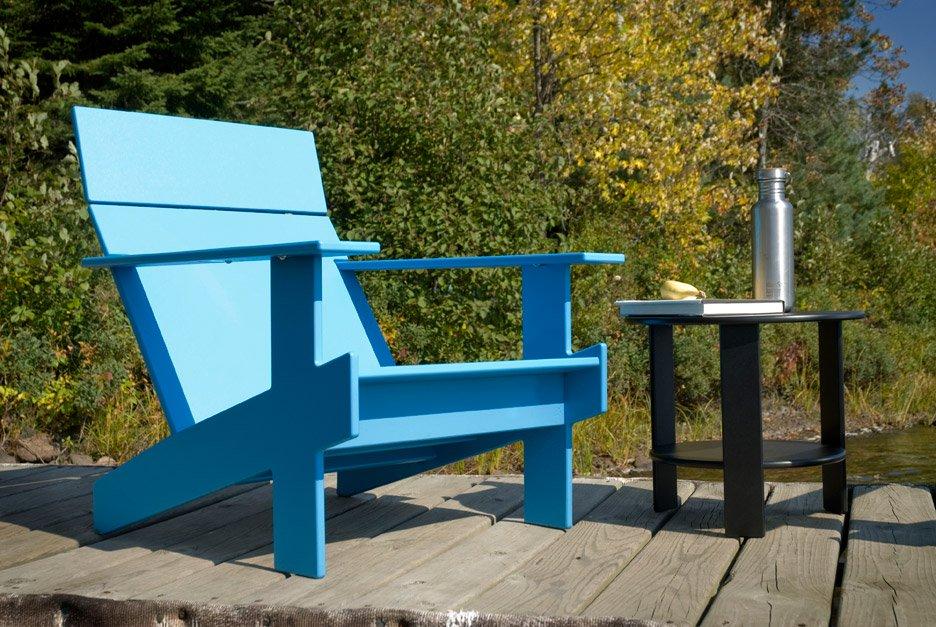 The Adirondack Chair In Blue. U201c