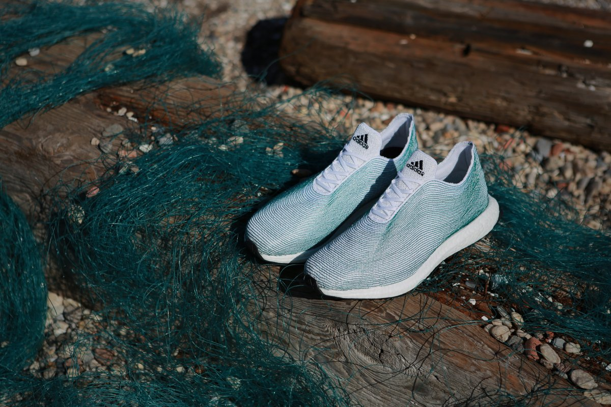 Parley shoes made from recycled ocean waste by Adidas | ART